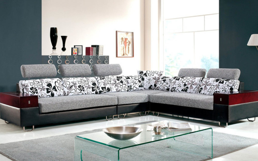 Seats Sofas 8312 Modern Sectional Sofa Sliding Seats Esf Furniture Thesofa