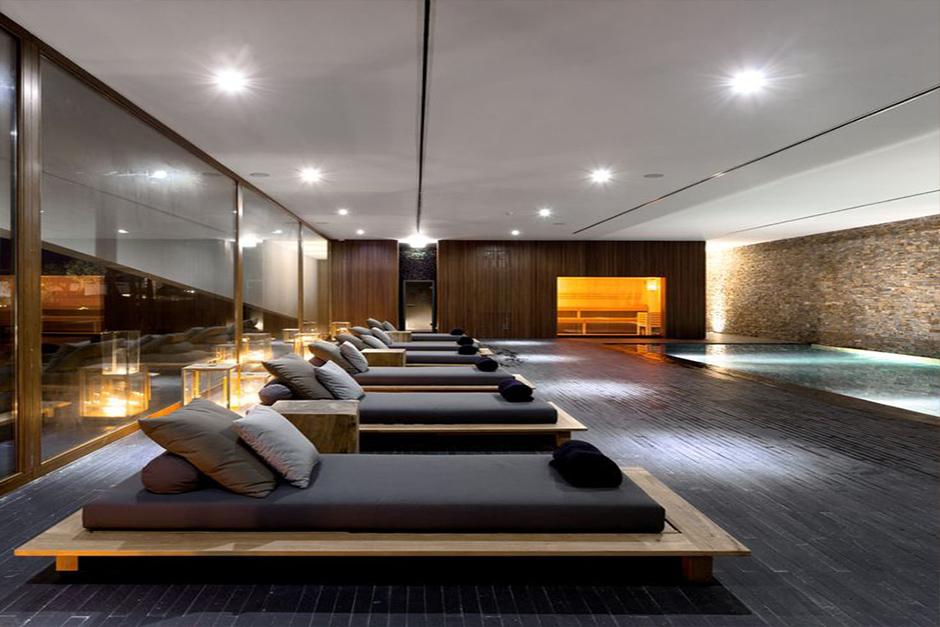 Spa Interior Reception