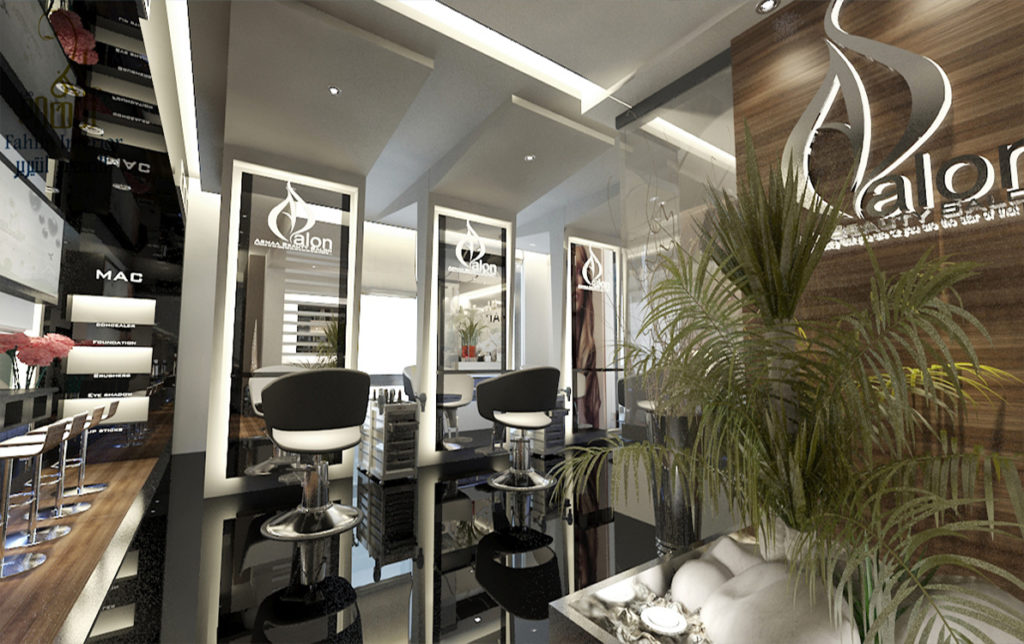 Salon interior design al fahim interiors for It design